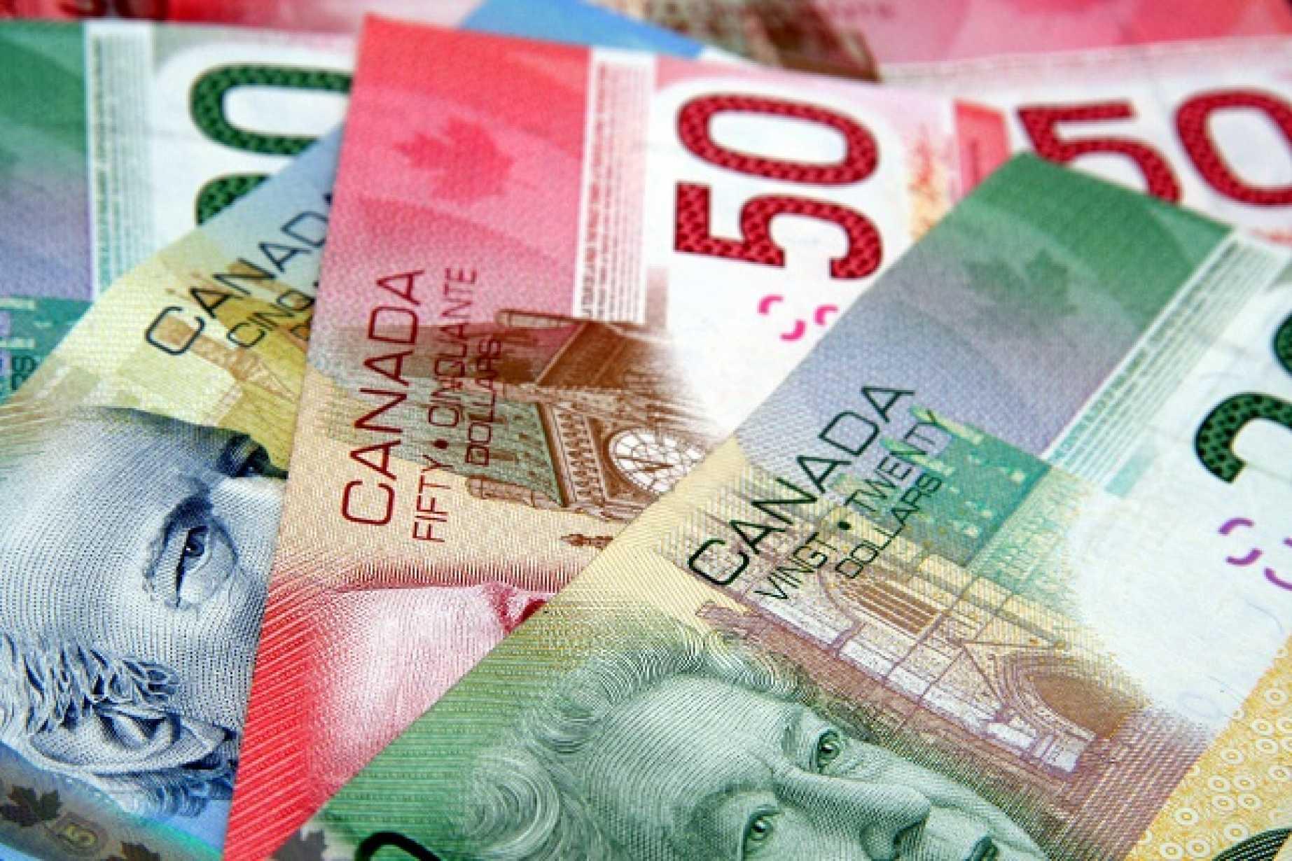Usd Cad Canadian Dollar Hits 1 Mth High