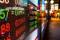 Hong Kong display stock market charts