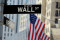 Wall Street sign, downtown Manhattan, New York City