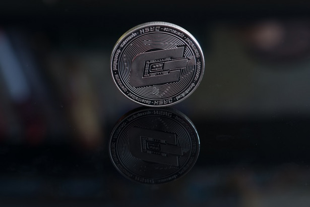 Dash cryptocurrency coin