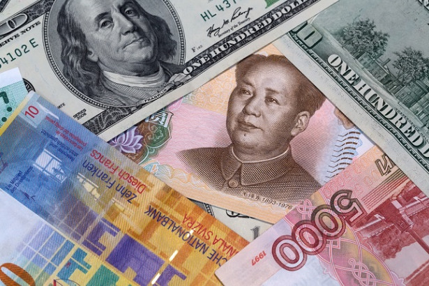 Yuan with Currencies