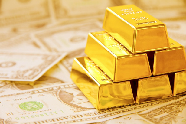 Gold daily chart, October 15, 2019