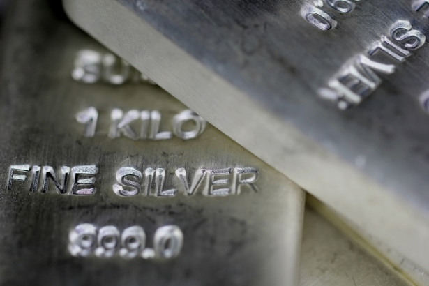 Silver weekly chart, October 21, 2019