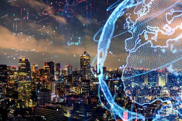 Умный город и концепция глобальной сети. IoT (Интернет вещей). ИКТ (информационно-коммуникационные технологии).