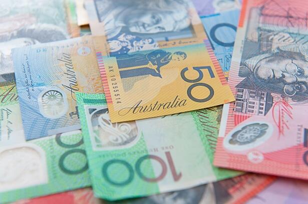 AUD/USD daily chart, May 15, 2018