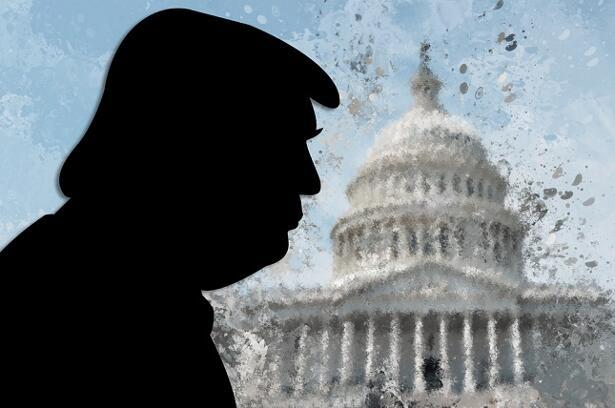 Trump, capitol hill