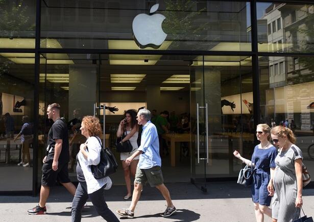 apple shares