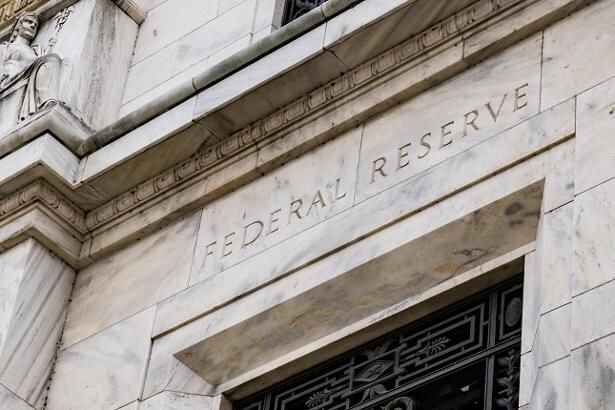 Facade on the Federal Reserve