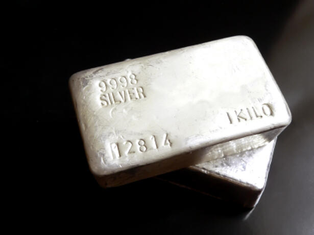 Silver daily chart, February 26, 2019
