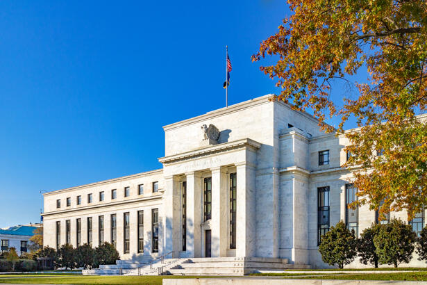 Federal reserve building, the headquater of Federal reserve bank.