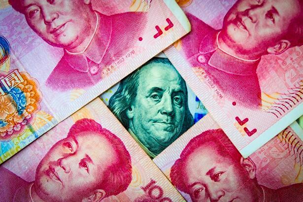 US dollar and China Yuan