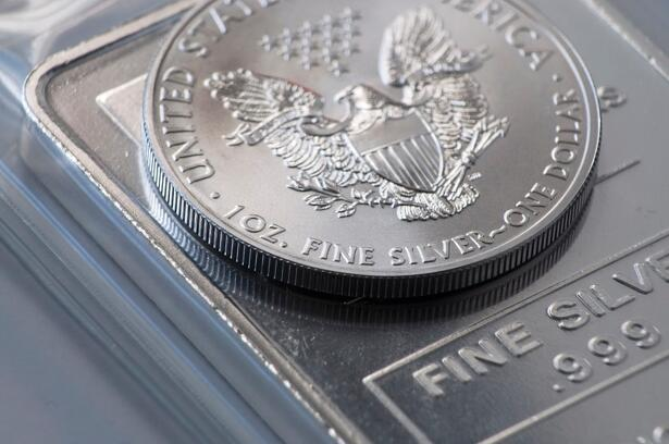 Silver daily chart, August 19, 2019