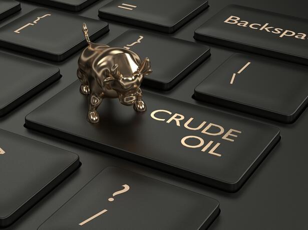 Crude Oil daily chart, November 18, 2019