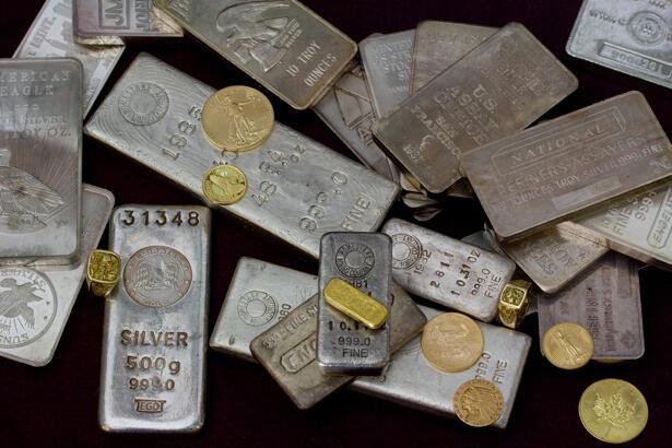 Gold. Silver and precious metals