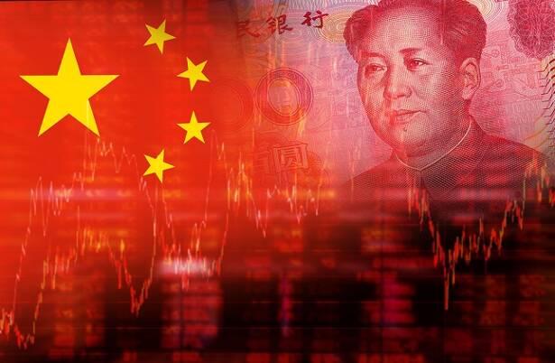 China Flag and Yuan