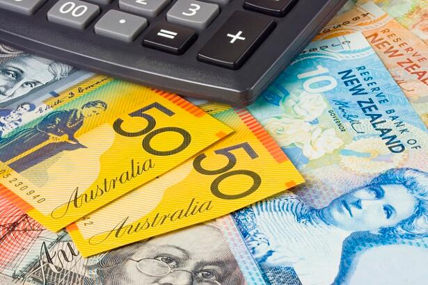 Forex - Australia and New Zealand currency pair with calculator