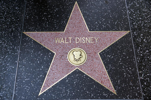 Walt Disney stock