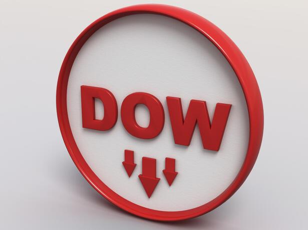Dow Jones Industrial Average and Cisco