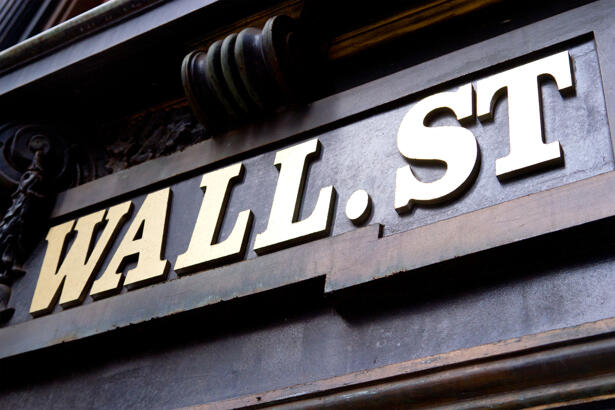 Wall Street Sign, NYC