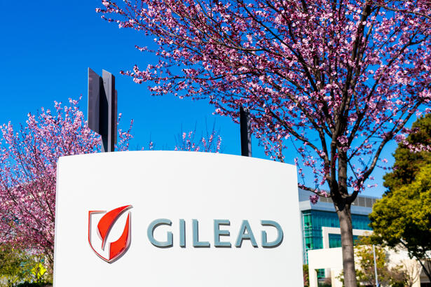 Gilead sign at headquarters in Silicon Valley. Gilead Sciences, Inc. is an American biotechnology company that researches, develops and commercializes drugs
