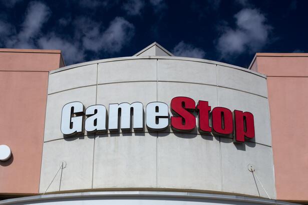 GameStop Store Exterior