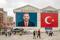 Poster of Turkish Prime Minister Recep Tayyip Erdogan