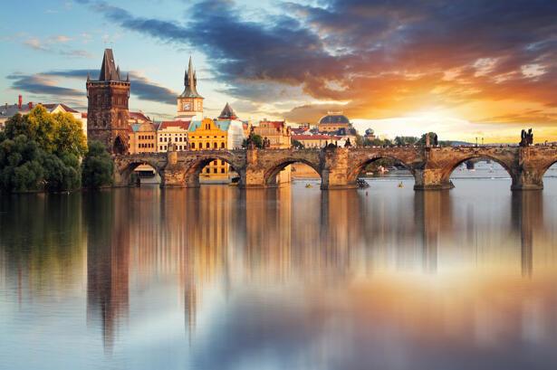 Prague - Charles bridge, Czech Republic