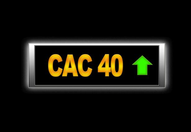 Cac 40 positive.