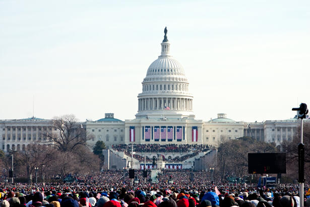 People at the Inauguration