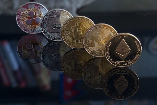 Ripple, Dash coin, Bitcoin, Monero and Ethereum