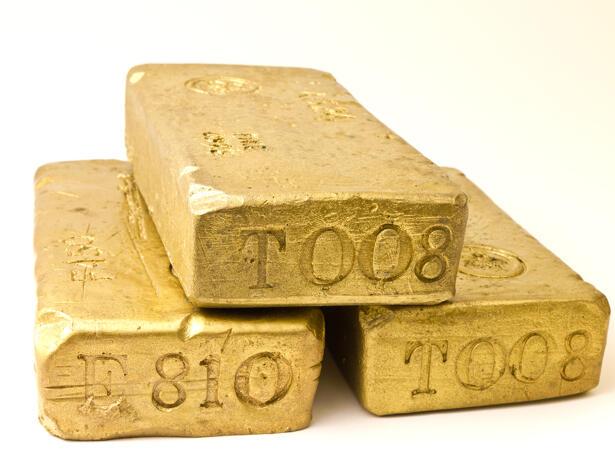 Gold bricks