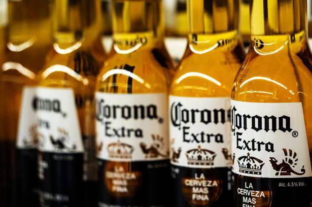 Corona Beer Stock