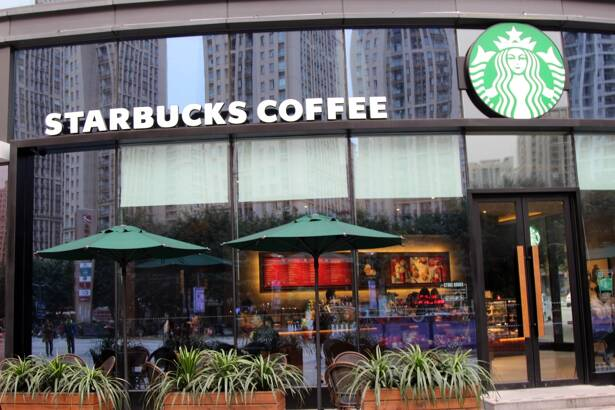 Starbucks Coffee buying falls in China, but higher prices prop up revenue