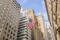 American flag at Wall Street,New York