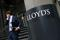 A man walks out of Lloyd's of London's