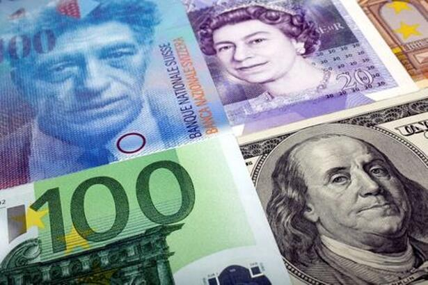 A picture illustration of U.S. dollar Swiss