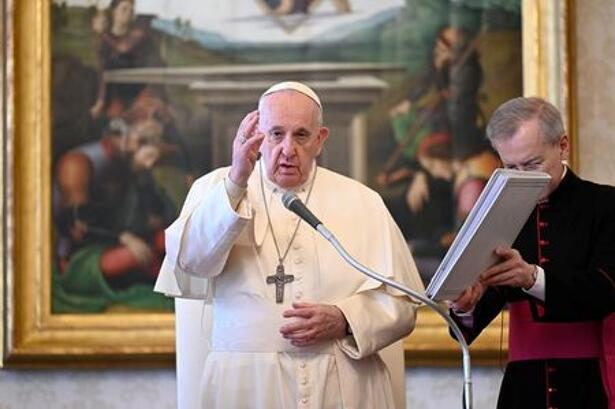 Pope Francis holds weekly audience