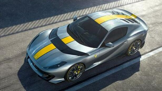 Ferrari's latest special series is seen in this