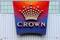 The logo of Australian casino giant Crown Resorts
