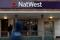 The logo of NatWest Bank, part of the Royal Bank