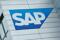 SAP logo at SAP headquarters in Walldorf