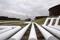 Pipelines run to Enbridge Inc.'s crude oil storage tanks at their tank farm in Cushing