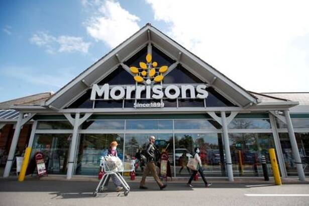 A Morrisons store is pictured in St Albans