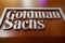 The Goldman Sachs company logo is on the
