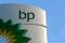 BP logo at a petrol station in