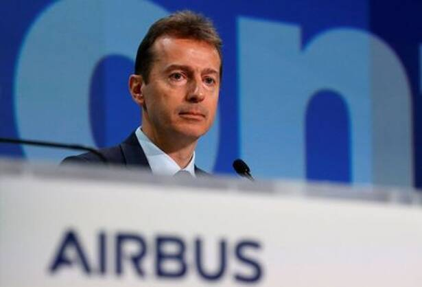 Airbus CEO Guillaume Faury