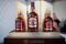 Bottles of Chivas Regal blended Scotch whisky, produced