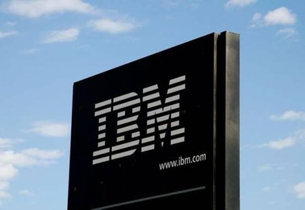 The sign at the IBM facility near Boulder,