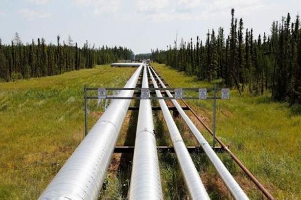 Oil, steam and natural gas pipelines run through