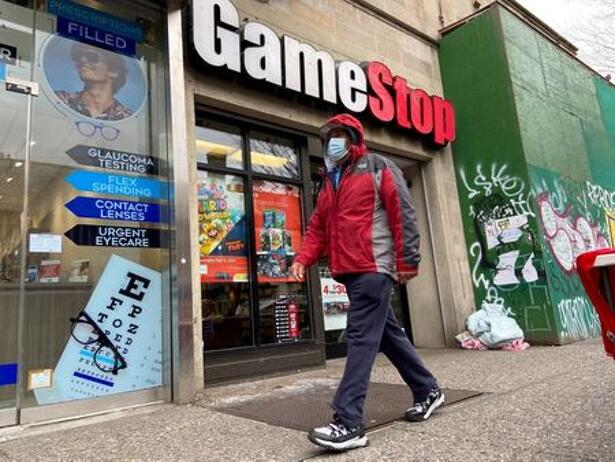 A GameStop store is seen in the Jackson